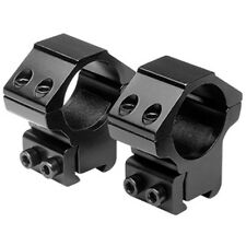 "NcSTAR 1"" x 1.1""H 3/8"" Dovetail Hunting Rifle Scope Optic Rail Mount Rings RB25"