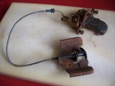 1979 pontiac firebird trans am hood latch,bracket,pull cable,bolts,80,81,78,79