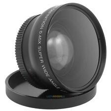 0.45X 52mm Super Wide Angle Macro Lens for Nikon D800, D3200, D3100, D5100,D7000