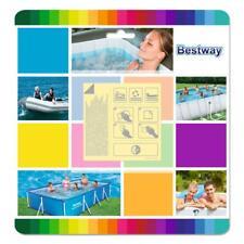 Bestway Wasserfest Selbstklebende Reparaturflicken Unterwasser Pool Luftmatratze