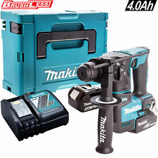 Makita DHR171Z 18V Brushless SDS+ Hammer Drill + 2 x 4Ah Batteries Charger, Case