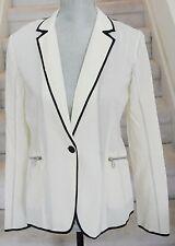 Ivory w/ Black RAG AND BONE New York Ludlow Blazer, Size 4