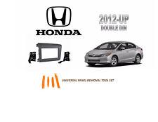 NEW Fits HONDA CIVIC 2012-UP  Car Stereo Double DIN Dash Kit, Tool Set