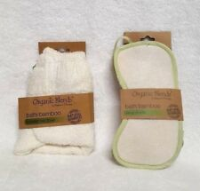 Organic Blends By Nature's Therapy Bath Bamboo Hooded Hair Towel & Sleep shades