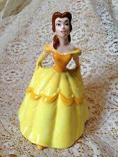 Rare Vintage Disney Beauty and Beast Belle Figurine Ceramic
