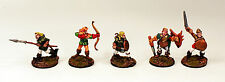 28mm Pro-dipinto FANTASY CE23 FANTERIA WOOD ELF-Set di 5-ESERCITI alternative