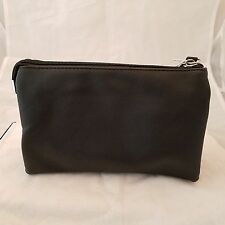 3 Pocket Purse With Credit Card Section In Black