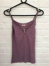 Ladies White Stuff Lavender Purple Strappy Night? Cami Vest Top *UK 12* #R3-CF