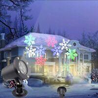 LED Laser Party Projektor Licht Außen Garten Beleuchtung für Halloween Xmas Deko