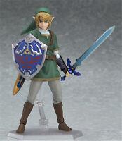 The Legend of Zelda Link Action Figure 14cm PVC Model In Box Breath of the Wild