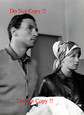 Jim Clark & Girlfriend Sally Stokes F1 Portrait Photograph 1