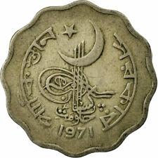 [#684529] Coin, Pakistan, 10 Paisa, 1971, VF(30-35), Copper-nickel, KM:31