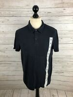 ARMANI Polo Shirt - Large - Navy - Great Condition - Men's