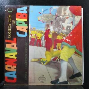 Claudionor Germano - Carnaval Comença Con C De Capiba LP VG+ Mocameo 40053