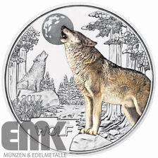 Österreich - 3 Euro 2017 - Der Wolf - Tier-Taler-Serie (5.) -  Kupfer-Nickel