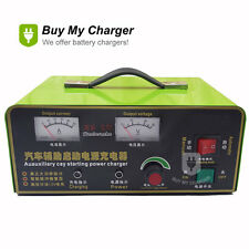 Intelligent Automatic 24V 30A 600AH Battery Charger for Lead Acid, GEL,UPS,wet