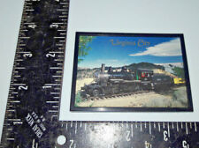 Virginia City Train Engine Railroad Refrigerator Magnet made in usa