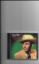 "HANK WILLIAMS, CD ""LONG GONE LONESOME BLUES"" 26 SONGS, NEW SEALED"