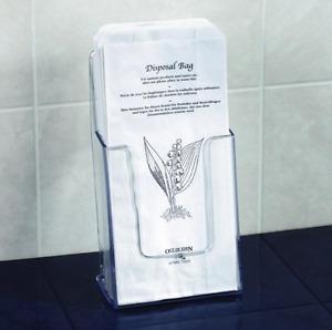 Paper Sanitary Disposal Bags (1 x 1000)