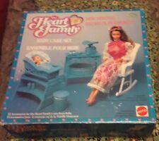Mattel Barbie Vintage Heart Family Playset