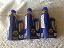 3 Banana Boat Sport Performance Cool Zone Clear Mist SPF 30 Spray w/Bonus Can