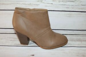 NEW LOOK Brand Dusty Brown Faux Leather Boots Size 8 NEW