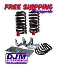 """DJM Suspension 3-5"""" Drop Kit Chevy GMC C10 68-72 Lowering Drop Coils Flip Kit"""