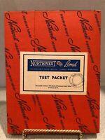 Vintage Northwest Paper Company Bond 100 Sheets 24lb White Cloquet Minnesota