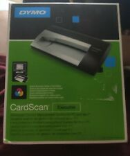 Dymo CardScan 800c Executive Advanced Contact Management office Scanner OVP