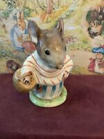 "Beatrix Potter's ""MRS. TITTLEMOUSE"" Mouse Figurine - F. Warne, Beswick   England"