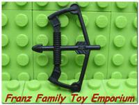 New LEGO Minifigure BOW / ARROW Weapon Black Compound Castle Ninjago Part Piece
