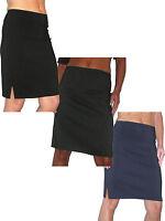 (2210) Stretch Pencil Skirt School Office Sizes 6-18