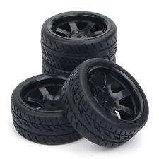 4Pcs Set 1:10 RC Flat Drift On-Road Tire Wheel Rim For HSP HPI Racing PP0072/150