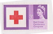 (STDA-169) 1963 GB 3d red cross