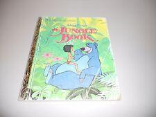 Walt Disney's The Jungle Book-Little Golden Children's Book