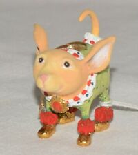 Patience Brewster Chihuahua Ornament New