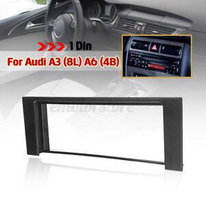 simple Din Adaptateur Façade Cadre Réducteur Autoradio pour Audi A3 (8L) A6