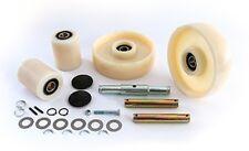 Mighty Lift ML55 (Nylon) Pallet Jack Complete Wheel Kit