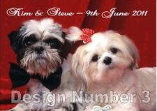 Personalised Large Congratulations Engagement Card FREE UK SAME DAY POS Pet Dog