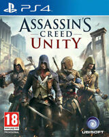 ASSASSINS CREED UNITY - PLAYSTATION 4 - PS4 - NEW SEALED - SAME DAY DISPATCH