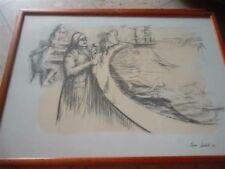 ✅ Serigrafia del Maestro PIERO LEDDI con firma in originale Anni 70
