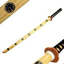 """40"""" Samurai Katana Bokken Kendo Wooden Practice Sword for Students Beginners"""
