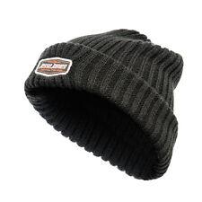 West Coast Choppers Jesse James Logo Sturdy Knitted Beanie Hat - Black