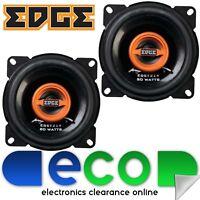 """EDGE EDST214-E6 4"""" 2 Way 160 Watts 100mm 10cm Car Van Dash Shelf Door Speakers"""