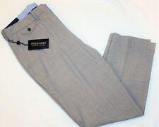 Ralph Lauren Polo Golf Classic Fit Wool Flat-Front Dress pants Gray 36 x 32 New