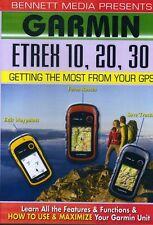 Garmin Etrex 10, 20, 30 (2012, DVD NEW)