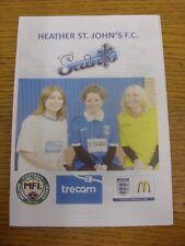 28/03/2016 Heather St Johns V Hinckley AFC. eventuali difetti con questo oggetto sono Bee