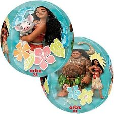 "Disney Moana Birthday Party Supply Moana 15IN"" Single ORBZ Balloon"