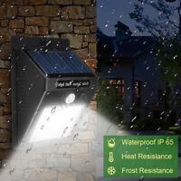 30LED Solar Power Motion Sensor Lampada da giardino Luce esterna impermeabile