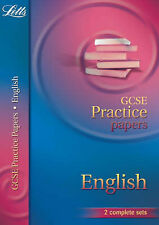 LETTS GCSE PRACTICE PAPERS ENGLISH KS4 3 SETS EXAM PAPERS ANSWERS MARK SCHEME